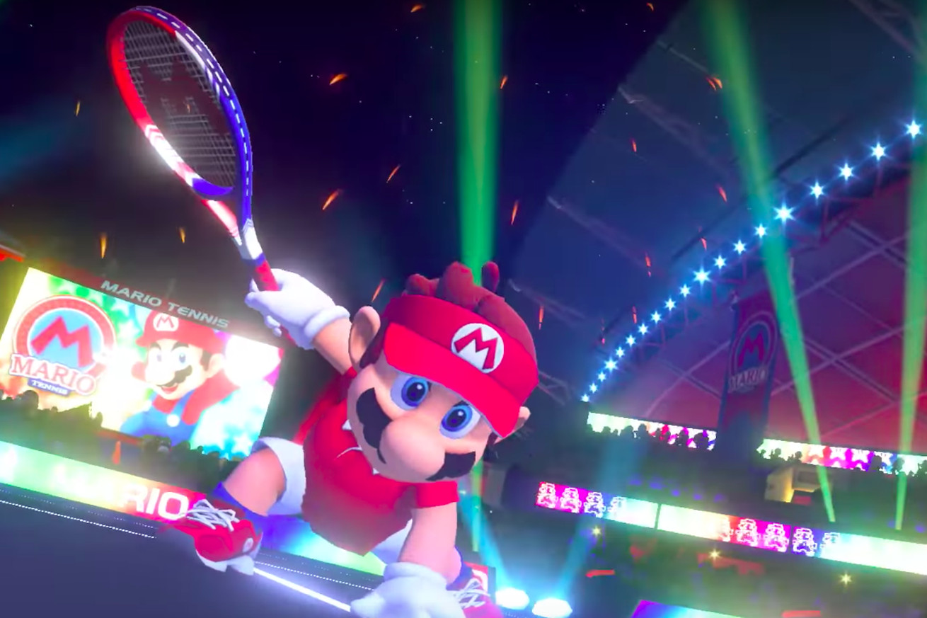 a new mario tennis game is coming to nintendo switch along with the world ends with you