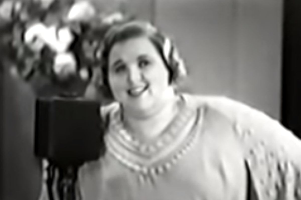 """Kate Smith's recording of """"God Bless America"""" has been played during the seventh inning of the Yankees' games for the past 18 years."""