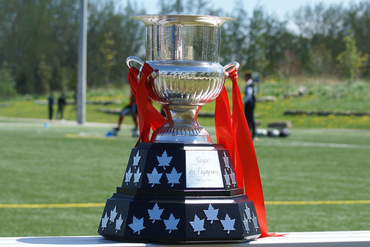 The words Vancouver Whitecaps still don't sully the VoyageursCup. Long may it stay that way.