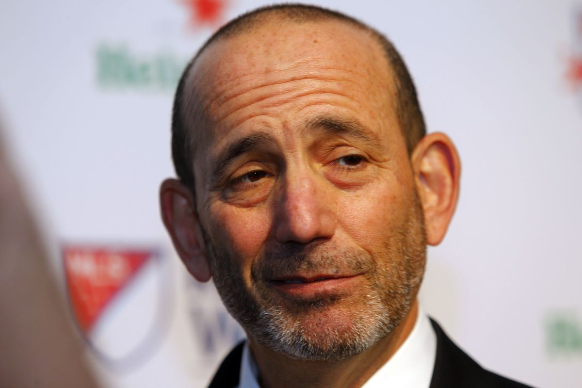 Don Garber looks on to see how teams will spend their new allowances.