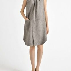 """Rachel Comey kava brushed alpaca dress, <a href=""""http://www.shopbird.com/product.php?productid=29854&cat=768&manufacturerid=&page=1"""">$209</a> (from $540)"""