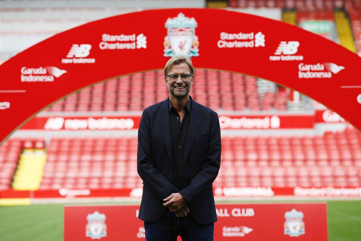 Liverpool's new Head coach Jurgen Klopp
