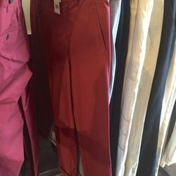 Red pants, $89 (were $195)