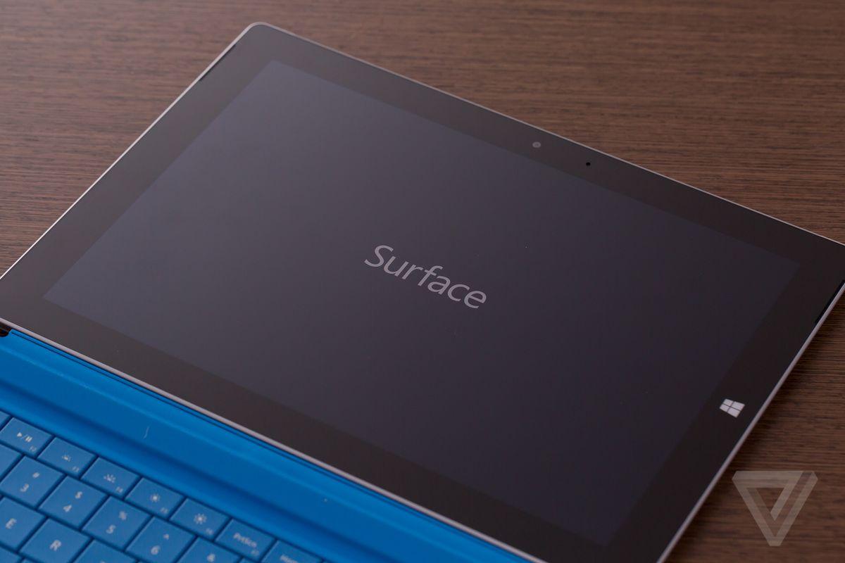 Surface 3 flat