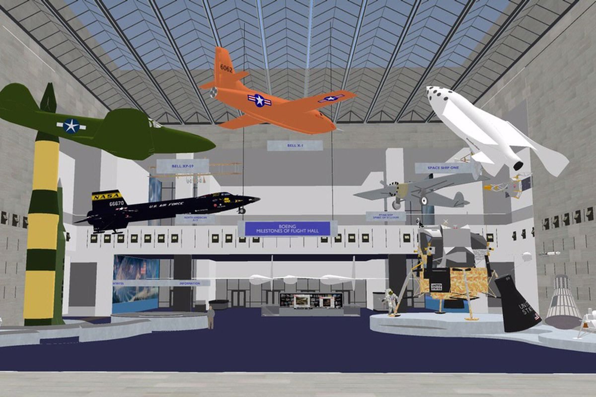 Smithsonian will renovate iconic space-museum hall for the first