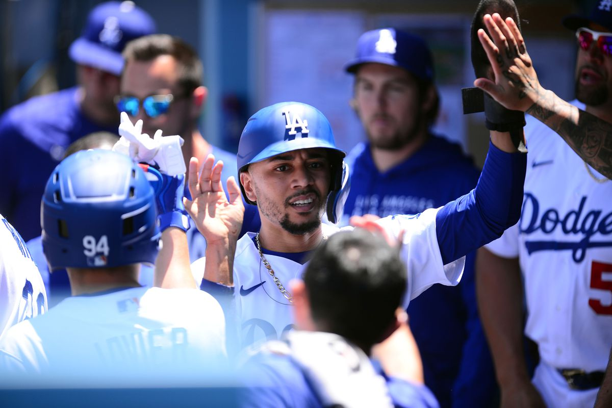 MLB: Texas Rangers at Los Angeles Dodgers