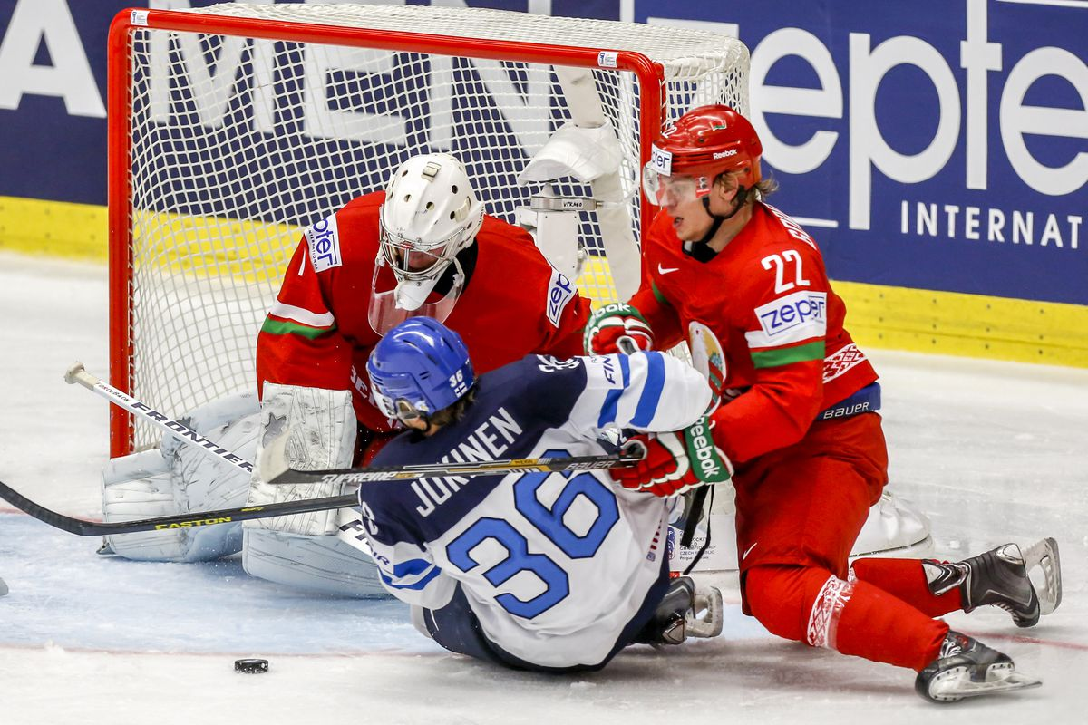 Jokinen and Finland slid by Belarus in a shootout.