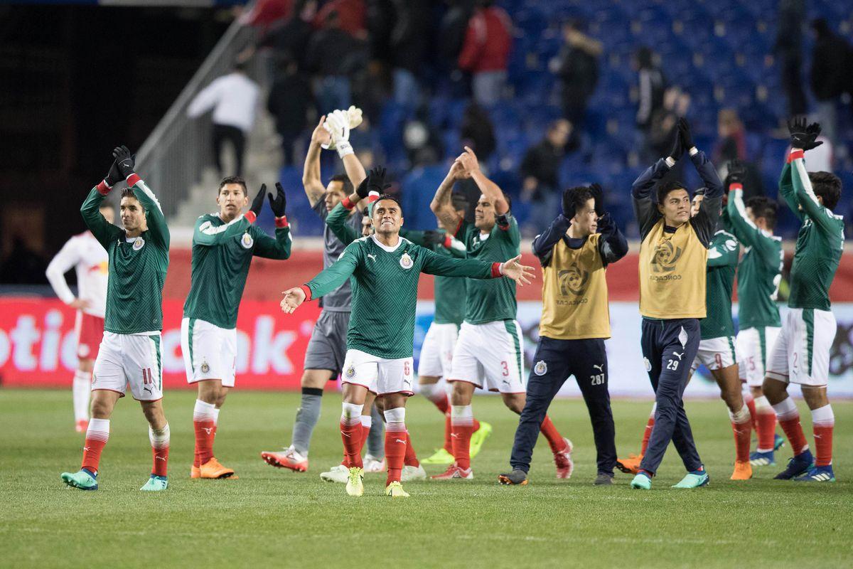 Soccer: Concacaf Champions League Semifinal-CD Guadalajara at New York Red Bulls