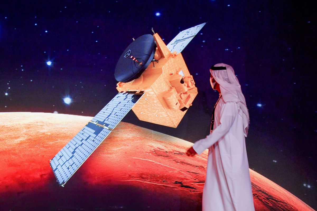 UAE-DUBAI-SCIENCE-SPACE-MARS