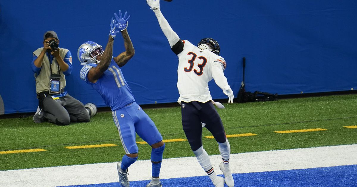 Former Utah DB Jaylon Johnson gets trucked but redeems himself with game-saving play in NFL debut