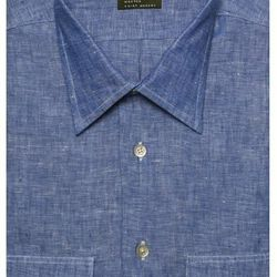 """<a href=""""http://www.gitman.com/product/solid-linen-sport-shirt-603/sport-shirts"""">Gitman Bros Linen Shirt</a>, $168 at Hassis Men's in Newtown Square."""