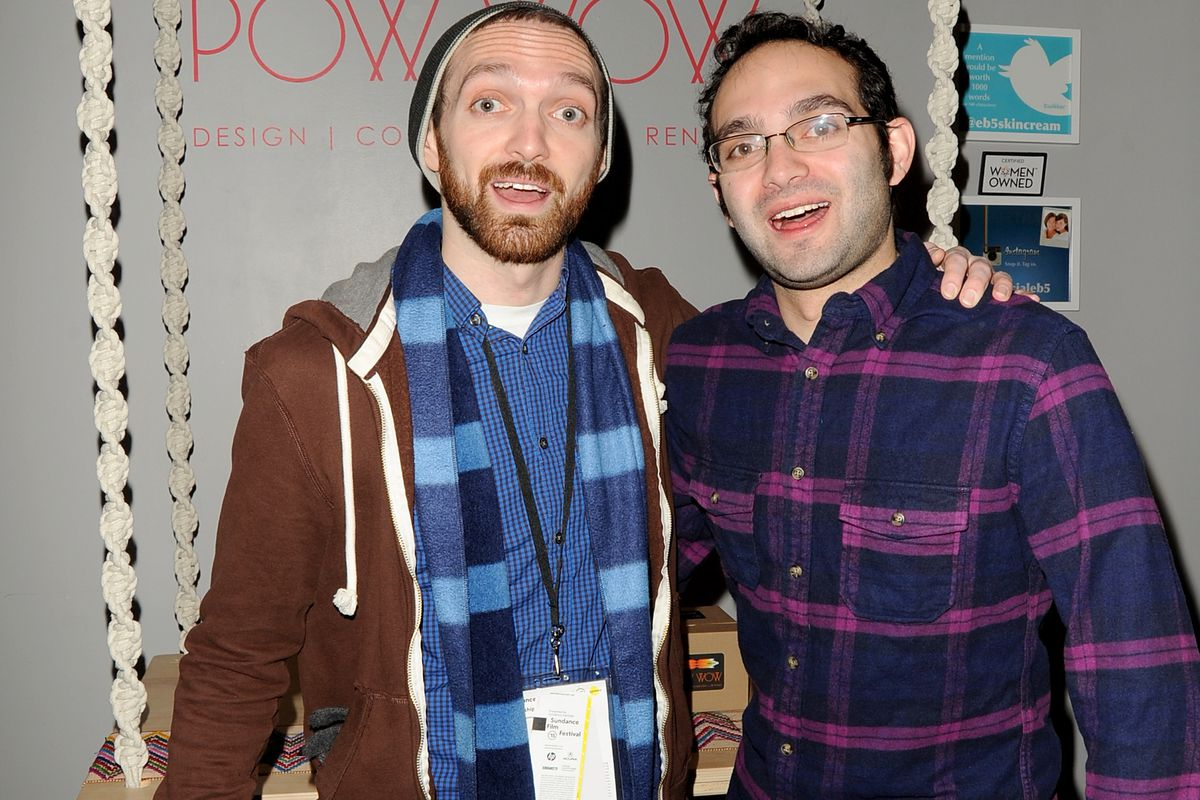 Rafi Fine (L) and Benny Fine attend Kari Feinstein's Style Lounge Presented By Aruba on January 25, 2015, in Park City, Utah.
