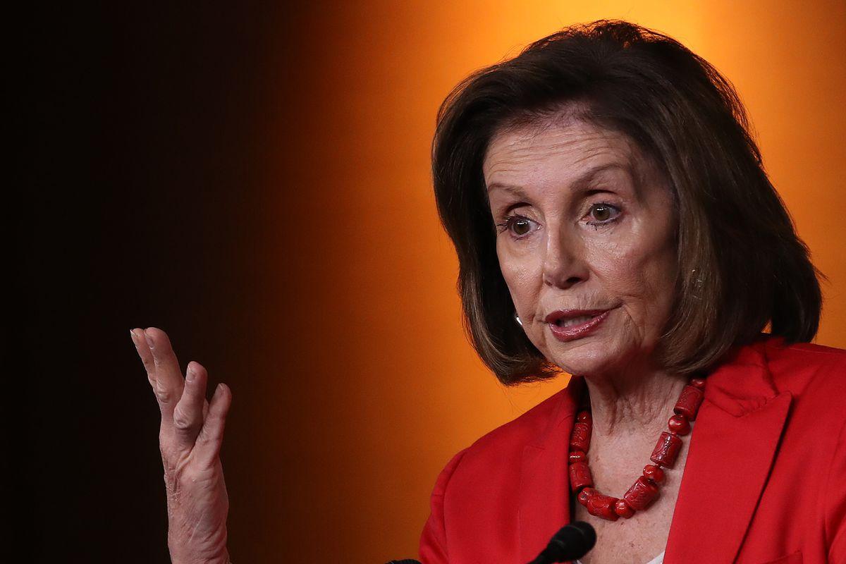 Speaker Nancy Pelosi Addresses The Media In Weekly Press Conference