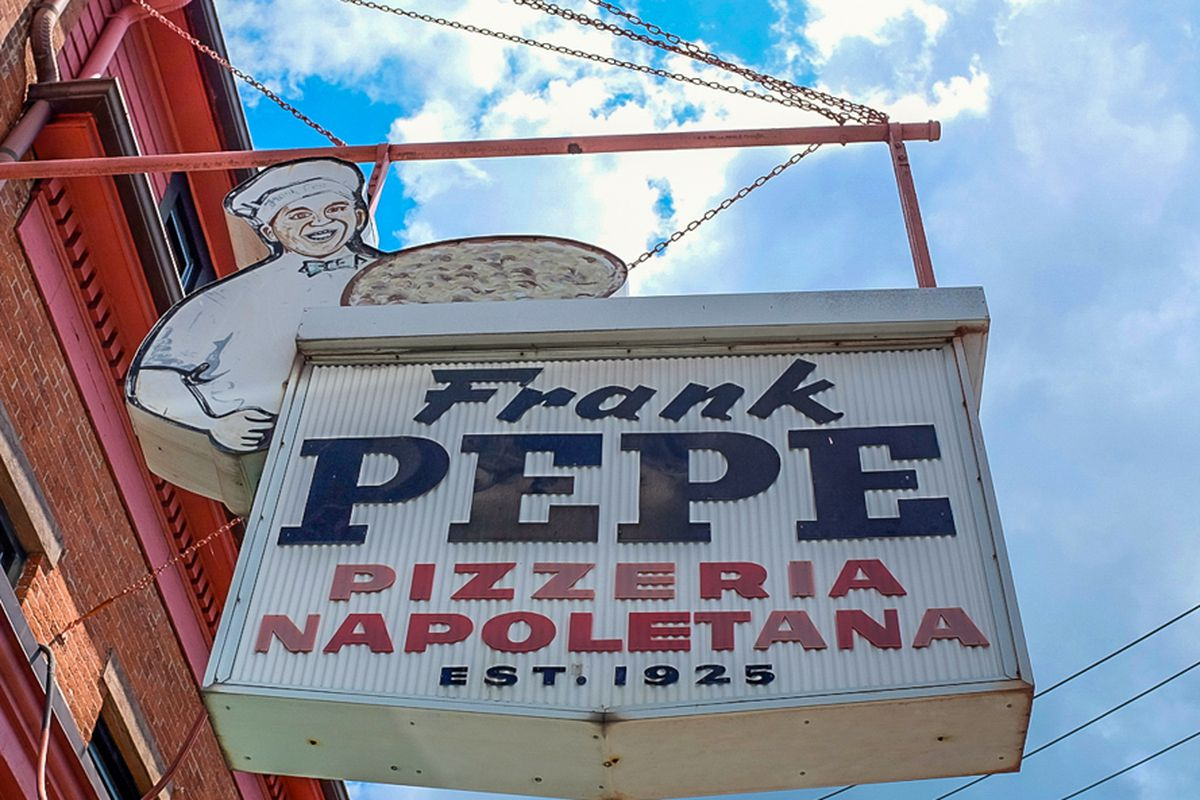 Frank Pepe in New Haven