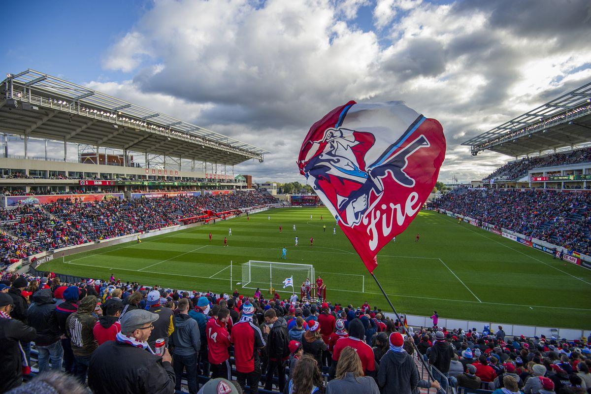 SOCCER: OCT 15 MLS - Philadelphia Union at Chicago Fire