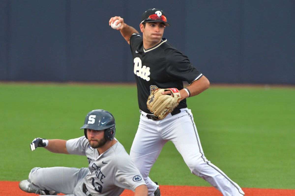 pitt baseball tops penn state, sweeps nittany lions in 2017