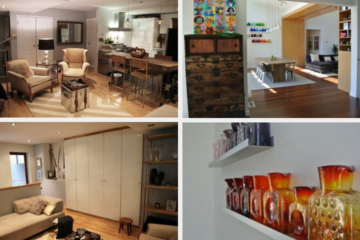 A sampling of the finalists in the living room/dining spaces amateur category