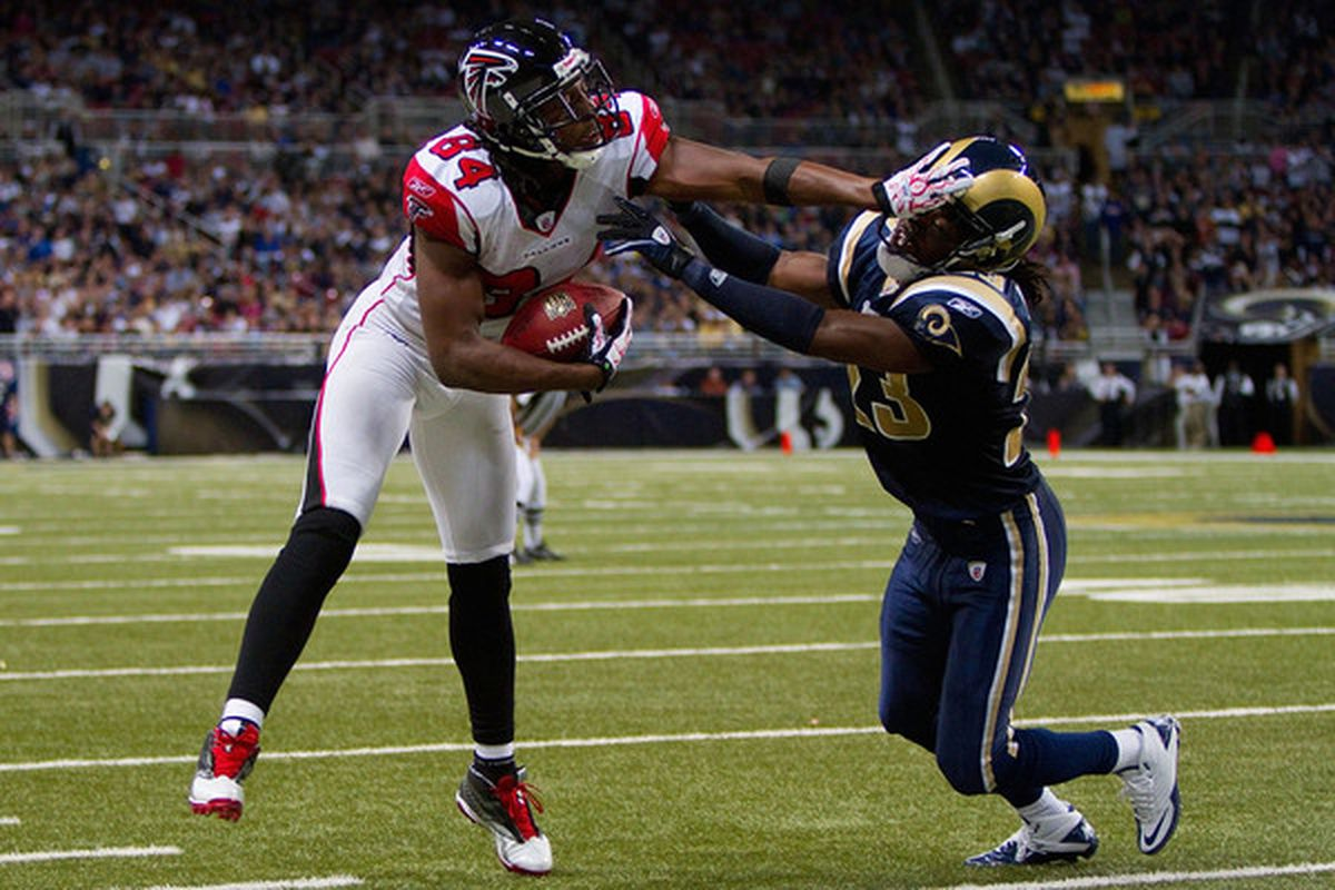 Jerome Murphy of the St. Louis Rams suffered a tweaked hamstring at practice today.