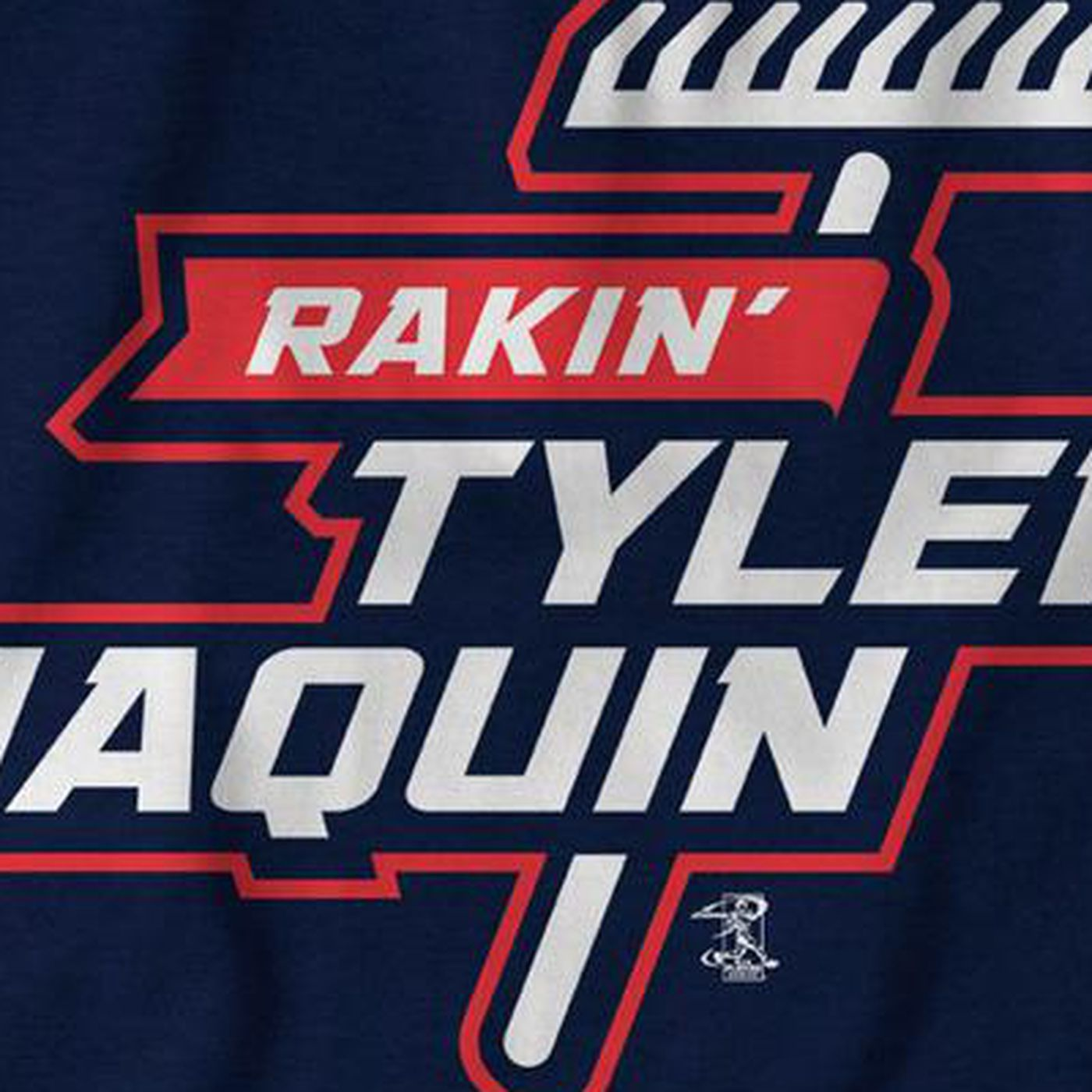 wholesale dealer 6b568 191d8 Tyler Naquin is raking, here's a shirt to prove it - Let's ...