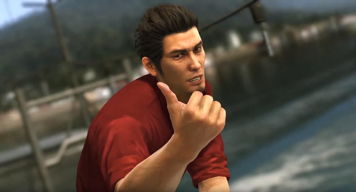 yakuza 6 - kiryu giving a thumbs up