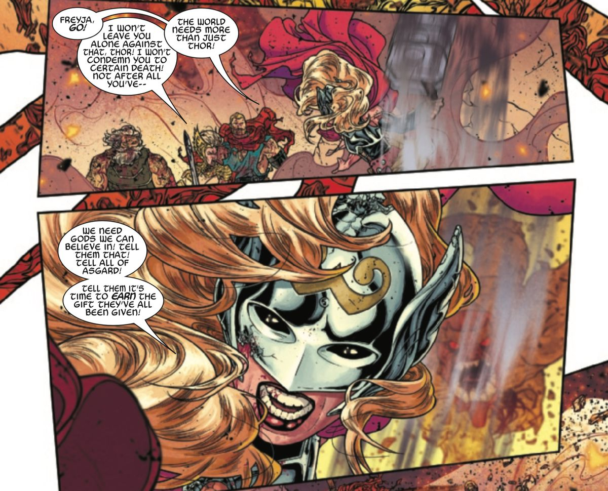 From The Mighty Thor #705, Marvel Comics (2018).