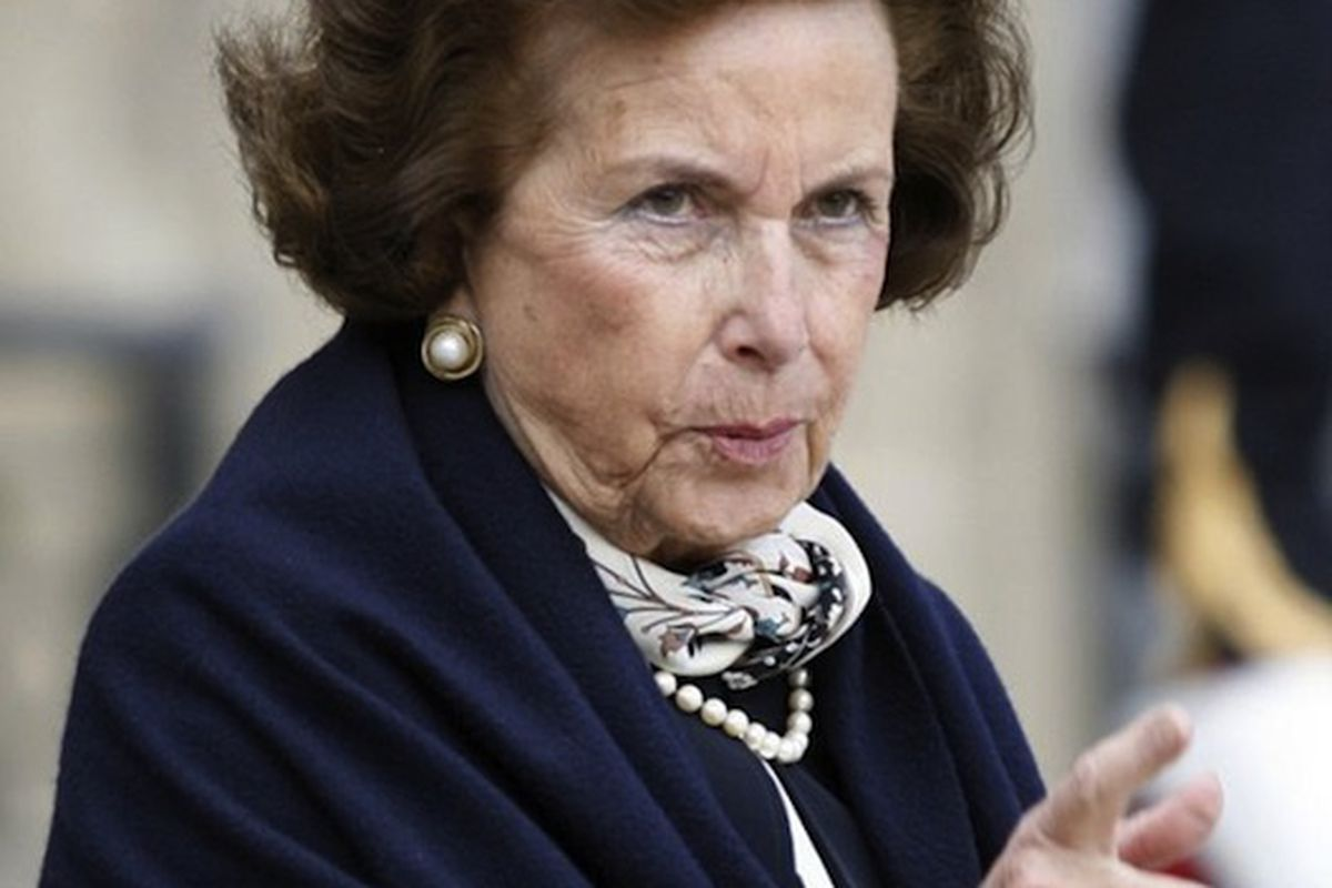 """Liliane Bettencourt says: """"You must not know 'bout me."""""""