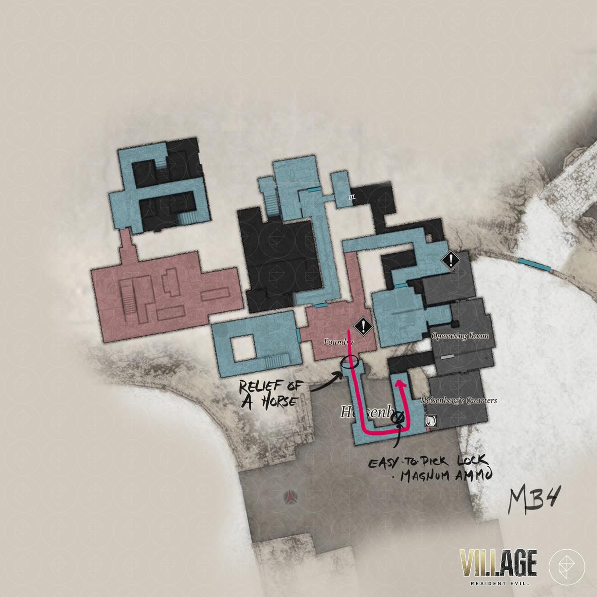 Resident Evil Village walkthrough part 14: Place the flasks and Heisenberg's Factory