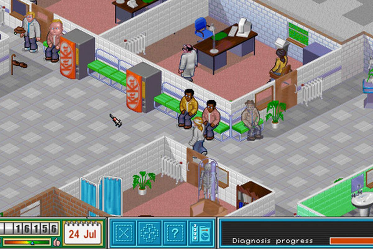 EA is giving away Theme Hospital for free right now on