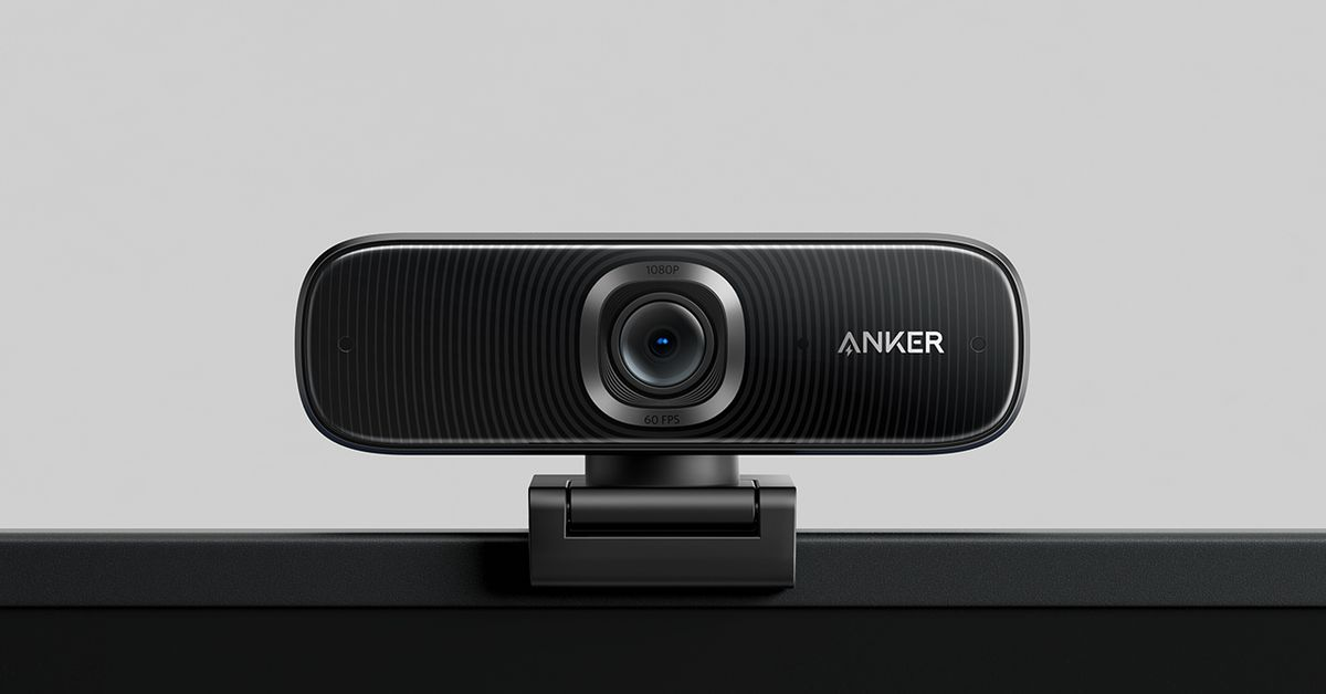 Anker is making a $130 webcam as part of its new expansion to home office gear - The Verge