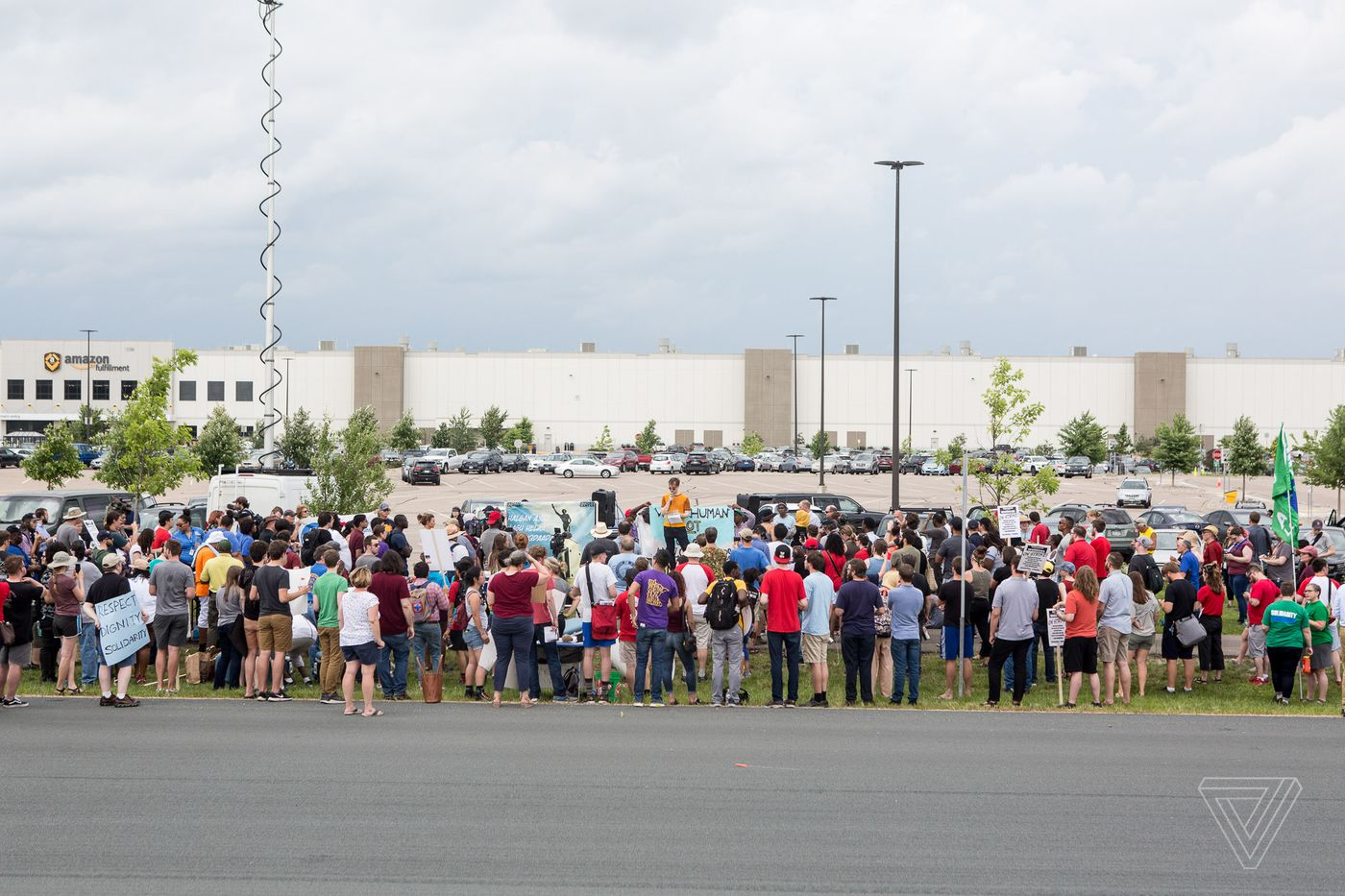 Amazon warehouse workers strike on Prime Day to protest inhumane