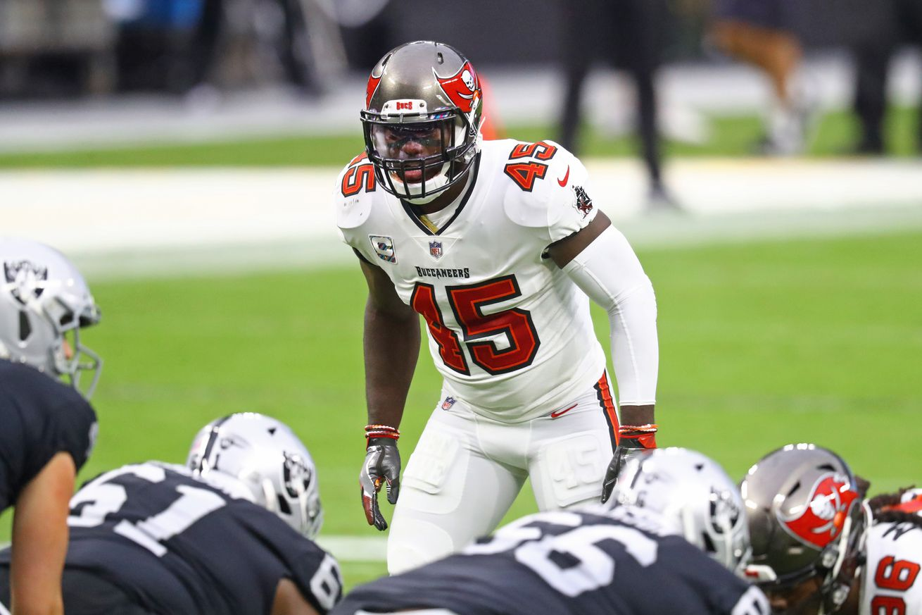 NFL: Tampa Bay Buccaneers at Las Vegas Raiders