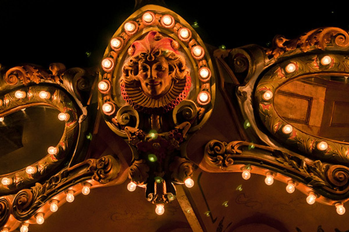 Detail of the Carousel Bar at the Hotel Monteleone.