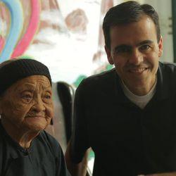 Dr. John Day in Bapan Village, China, in 2013.