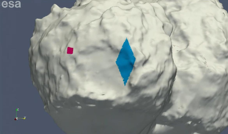 philae map