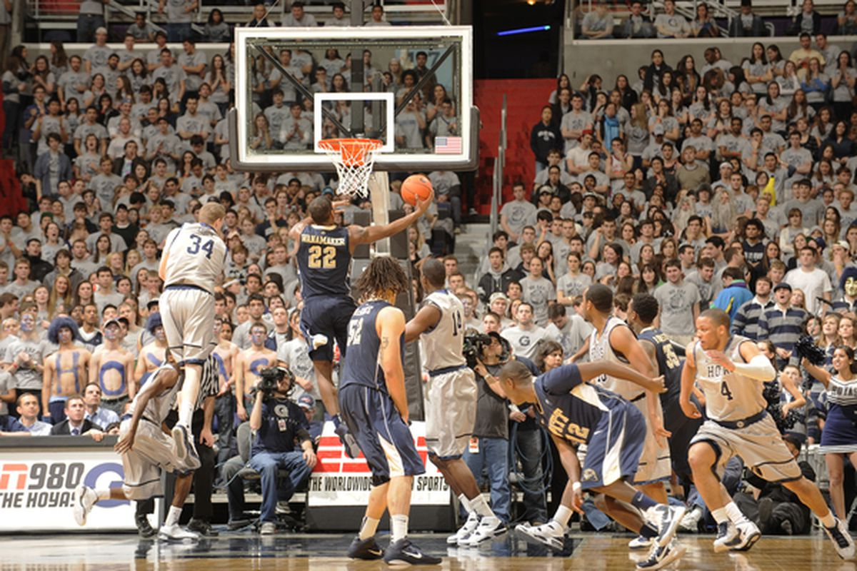 Last year, Pitt beat Georgetown comfortably on the road (Photo by Mitchell Layton/Getty Images)
