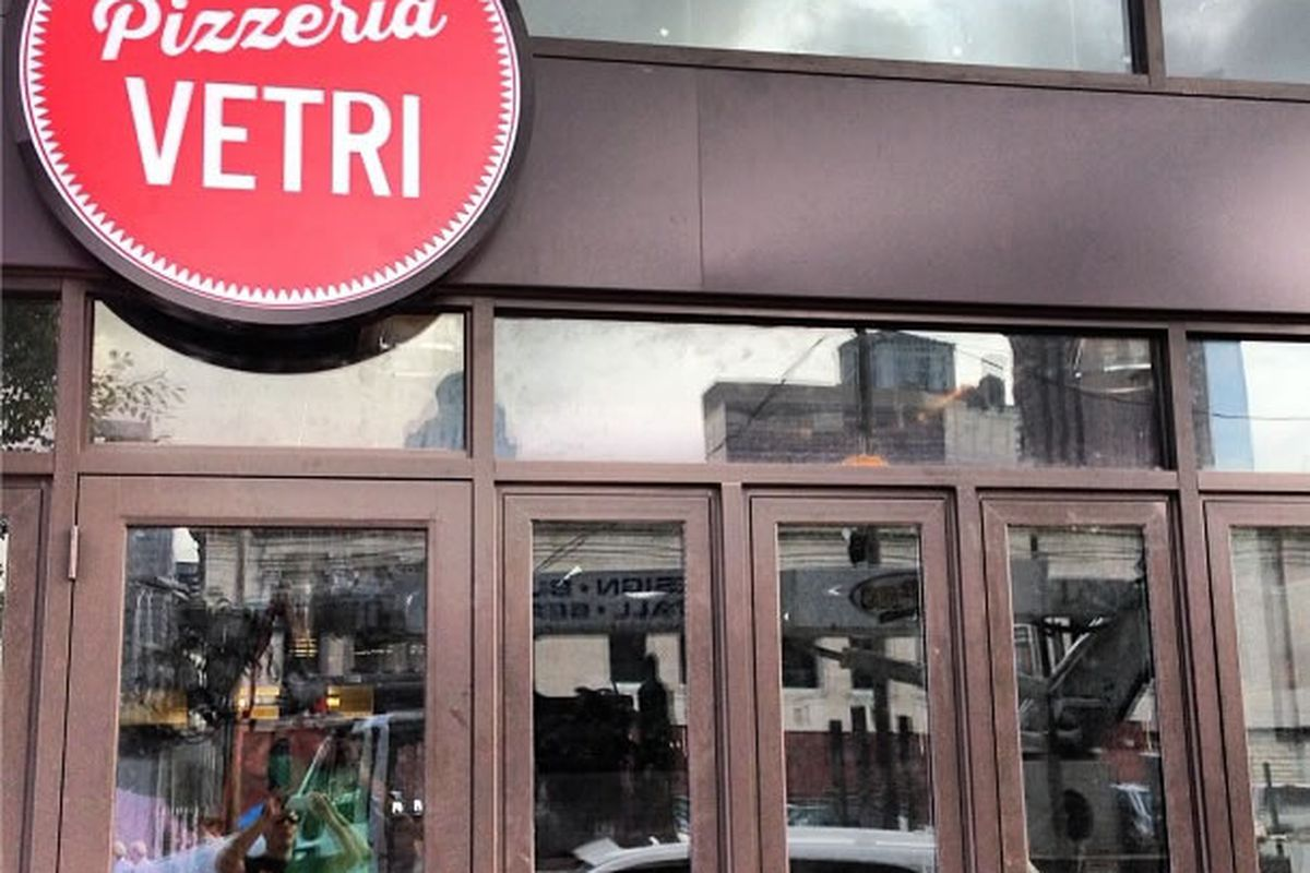 We're getting closer to Pizzeria Vetri.