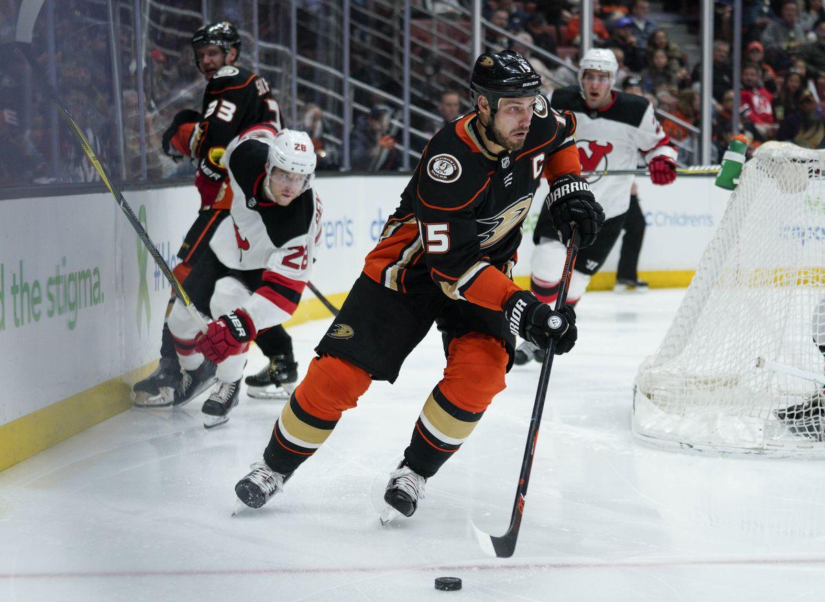 NHL: New Jersey Devils at Anaheim Ducks