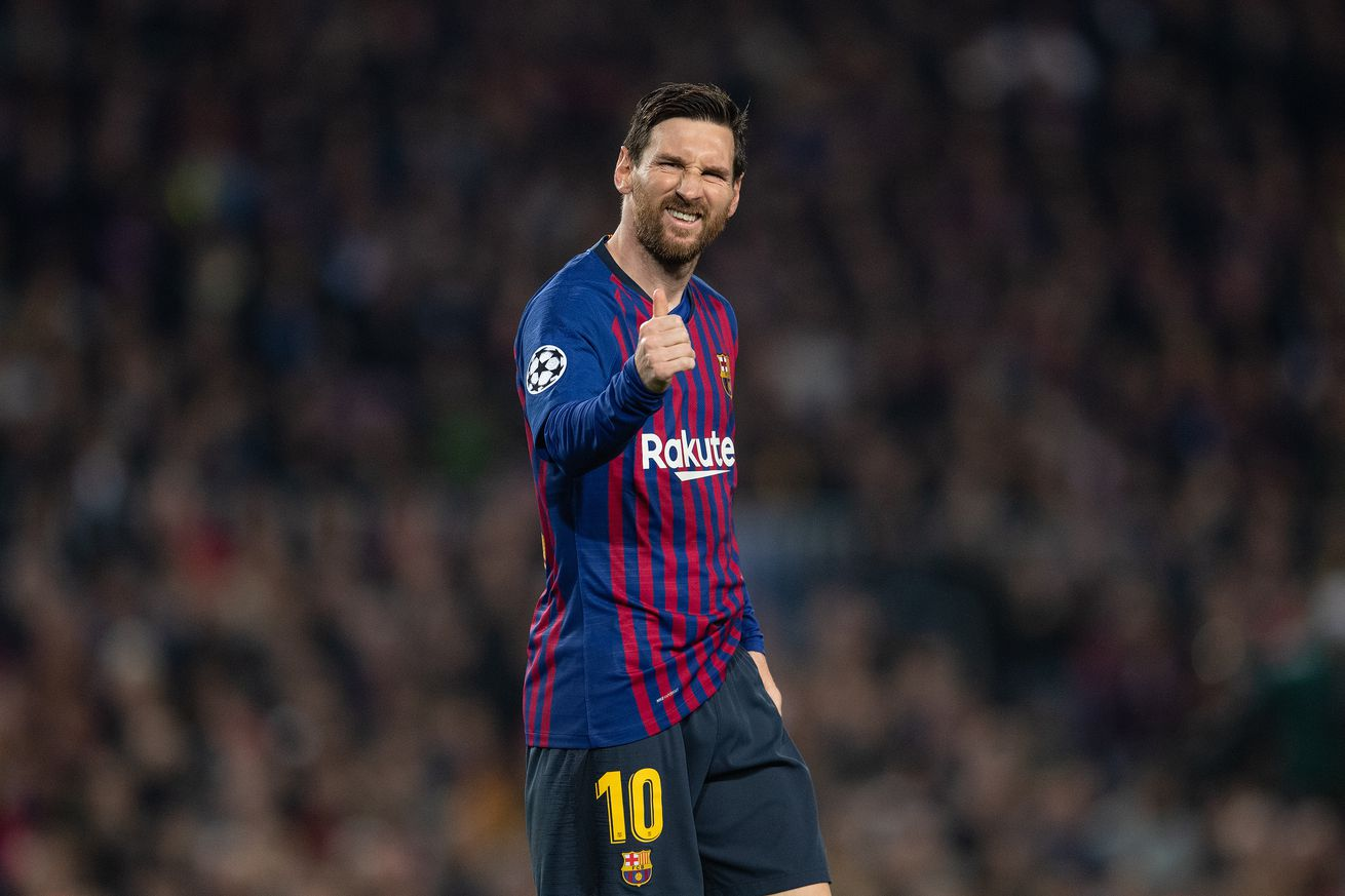 Messi named Champions League Player of the Week