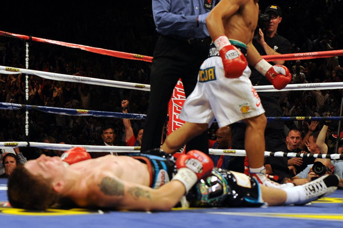 Manny Pacquiao's two-round destruction of Ricky Hatton in May remains an amazing thing to watch. Can Miguel Cotto do anything to stop Pacquiao's amazing run? (AP Photo)