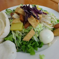 Gado gado salad at Sky Cafe