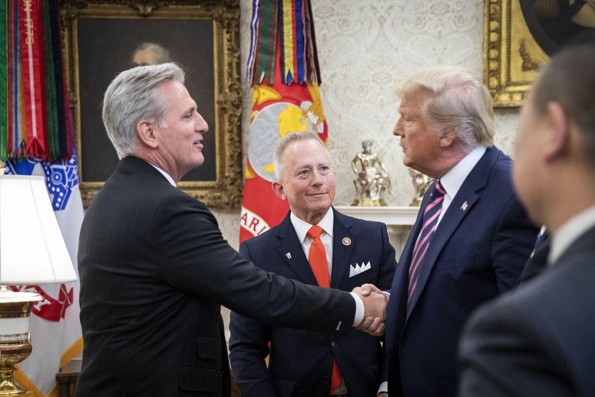 President Trump Meets With NJ Congressman Jeff Van Drew
