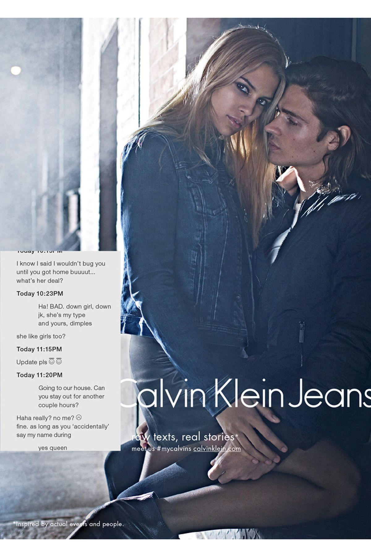 Calvin Klein Jeans Partners With Tinder Racked