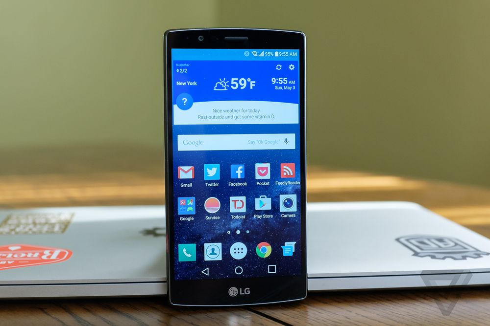 LG G4 review   The Verge