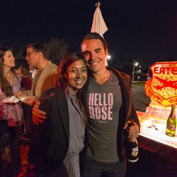 Henri Schock from Bottlehouse (with wife Soni)