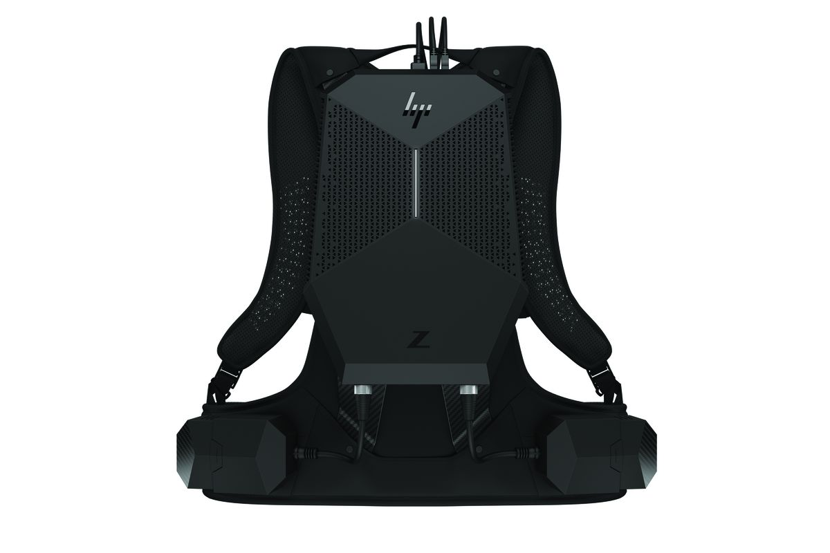 HP launches VR backpack for professional training