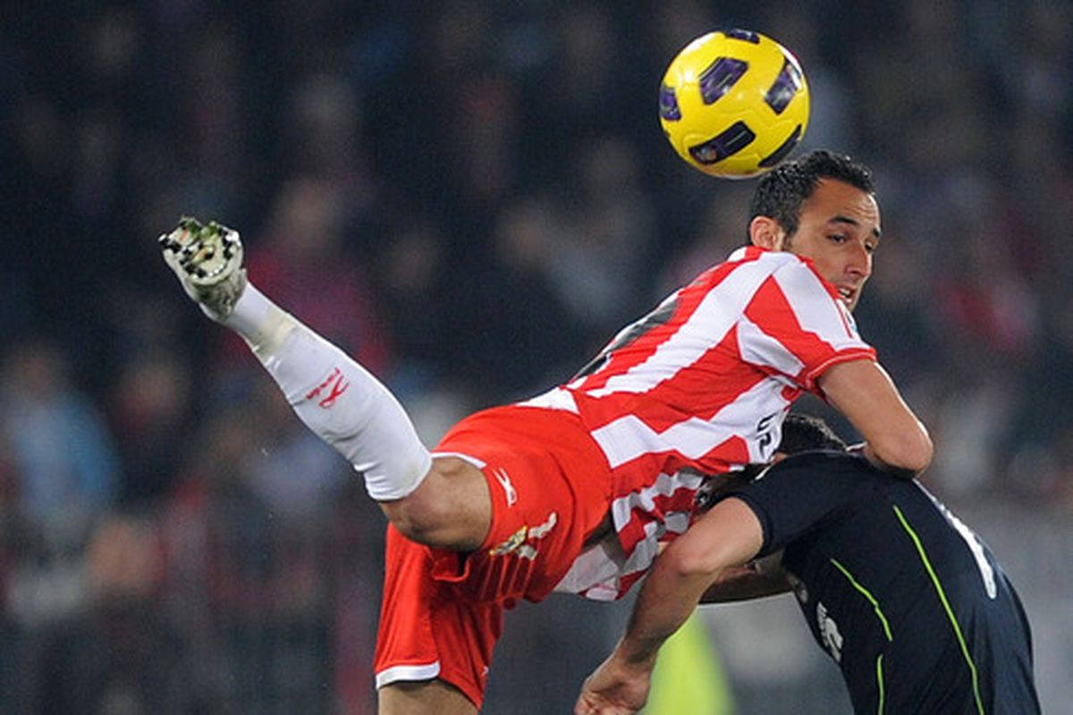 Almeria have a leg up to a Primera return after today's win in Girona
