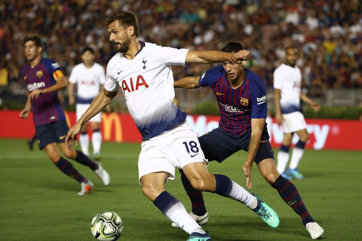 Tottenham: Barcelona 2-2 Tottenham: Barca Defeats Spurs In ICC
