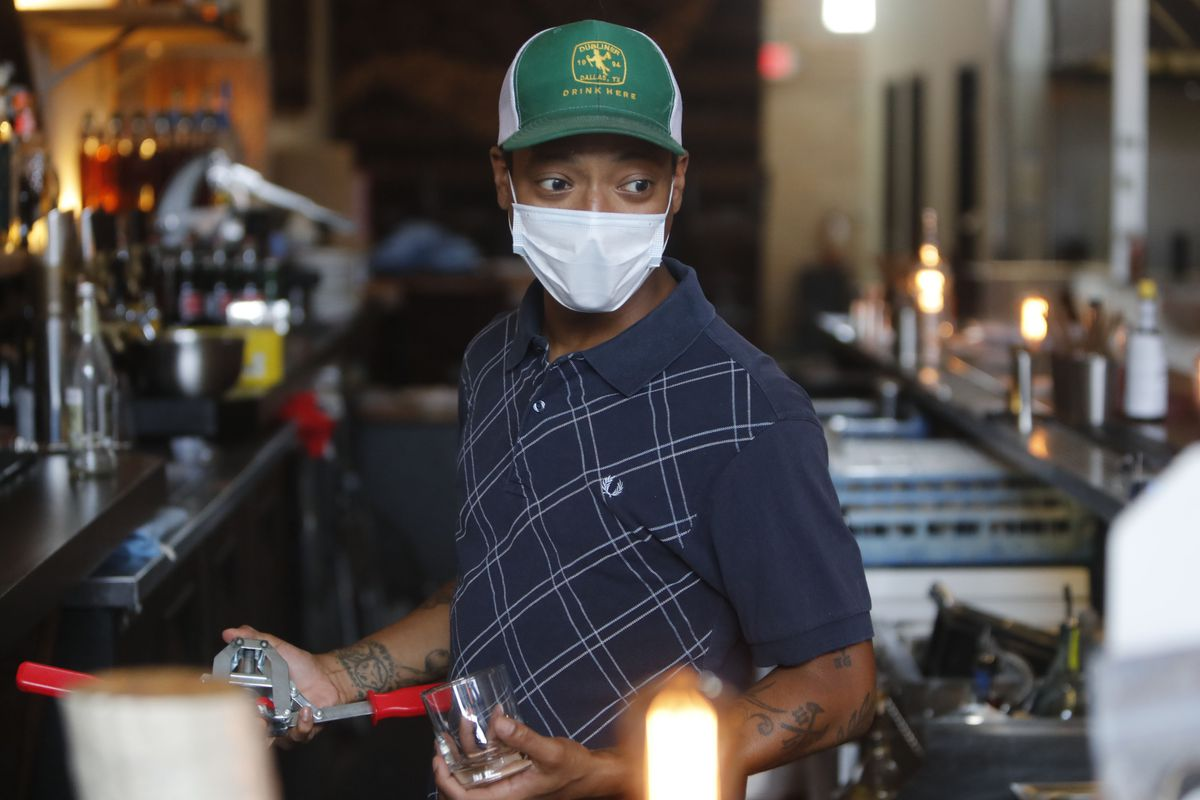 After four days, Omar Yeefoon had to shut down again in the face of a COVID-19 resurgence in Texas and lay off two of the four workers he'd brought back.