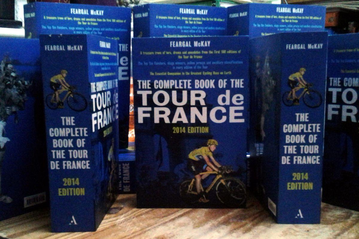 The Complete Book of the Tour de France, by Feargal McKay, published by Aurum Press