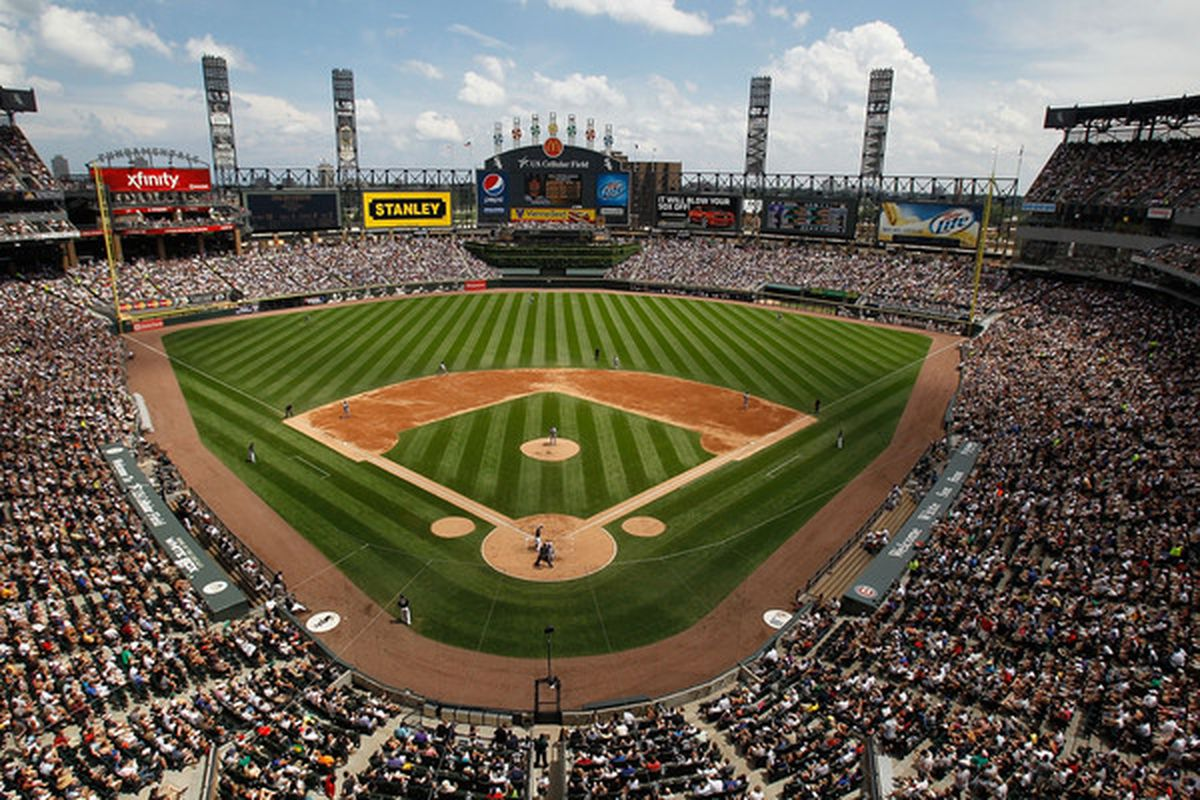 CHICAGO - JUNE 27: A general view of U.S. Cellular Field as the Chicago White Sox take on the Chicago Cubs on June 27, 2010 in Chicago, Illinois. The Cubs defeated the White Sox 8-6. (Photo by Jonathan Daniel/Getty Images)